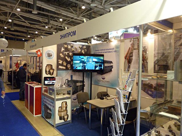 Компания Энипром приняла участие в выставке «Металл-Экспо'2014»