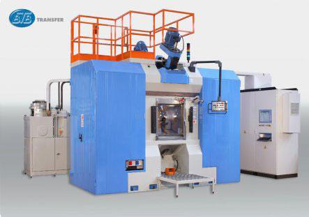 Трехкоординатный агрегатный станок с ЧПУ модели BB02: TRO 8S-11U ISO40 CN-EL