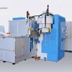 Двухкоординатный агрегатный станок с ЧПУ модели BB03: TRO 6S-4U ISO40 CN-EL