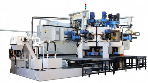 Трехкоординатный агрегатный станок с ЧПУ модели BB06: TRV 10S-17U+6MC ISO40 CN-EL