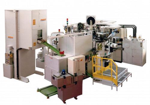 Трехкоординатный агрегатный станок с ЧПУ модели BB08: TRV 12S-22U ISO30/40 CN-EL
