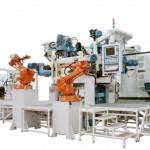 Трехкоординатный агрегатный станок с ЧПУ модели BB15: TRV 12S-14U-3MC ISO40 CN-EL