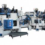 Производственная линия с трехкоординатными агрегатными станками с ЧПУ BB16: TRV 12S-18U+1MC HSK 63 CN-EL OP10 / TRV 12S-16+1MC HSK63 CN-EL OP20