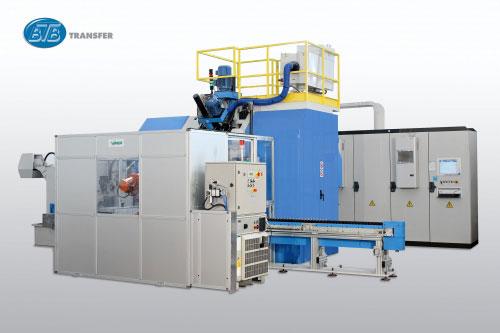 Трехкоординатный агрегатный станок с ЧПУ модели BB30: TRO 8S-13U+3MC ISO40 CN-EL