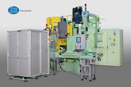 Трехкоординатный агрегатный станок с ЧПУ модели BB34: TRO 8S-6U+1MC ISO40 CNEL