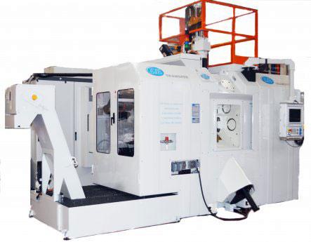 Трехкоординатный агрегатный станок с ЧПУ модели BB35: TR0 8S-11U ISO40 CN-EL