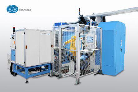 Трехкоординатный агрегатный станок с ЧПУ модели BB36: TRO 8S-12U ISO30 CNEL