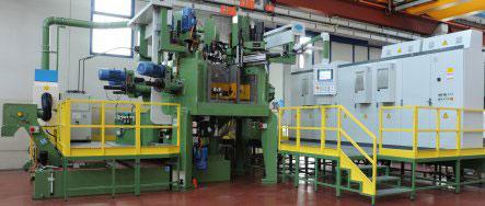 Трехкоординатный агрегатный станок с ЧПУ модели BB38: TRV 10S-17U+1MC ISO40 CNEL