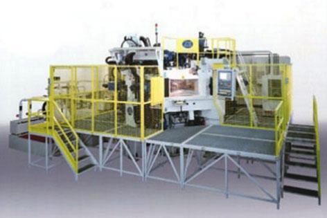 Многокоординатный агрегатный станок с ЧПУ модели BB21: TRV 12S/15MC HSK63 CN-EL