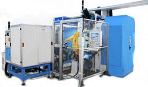 Трехкоординатный агрегатный станок с ЧПУ модели BB25: TRO 8S-18U ISO30 CN-EL