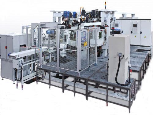 Многокоординатный агрегатный станок с ЧПУ модели BB33: TRV 6S-5U ISO40 CNEL